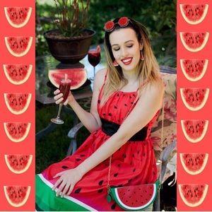 New Dolls Kill Watermelon Dress Size: Medium